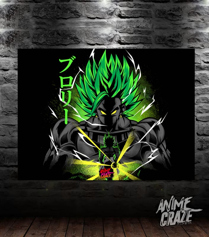 Legendary Broly Canvas(Exclusive) - Anime Craze