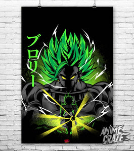 Legendary Broly Poster(Exclusive) - Anime Craze