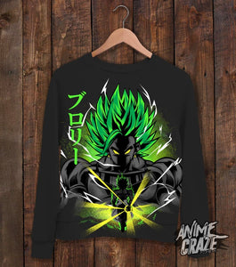 Legendary Broly Sweat Shirt(Exclusive) - Anime Craze