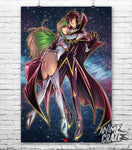 Lelouch and C.C. Poster(Exclusive) - Anime Craze