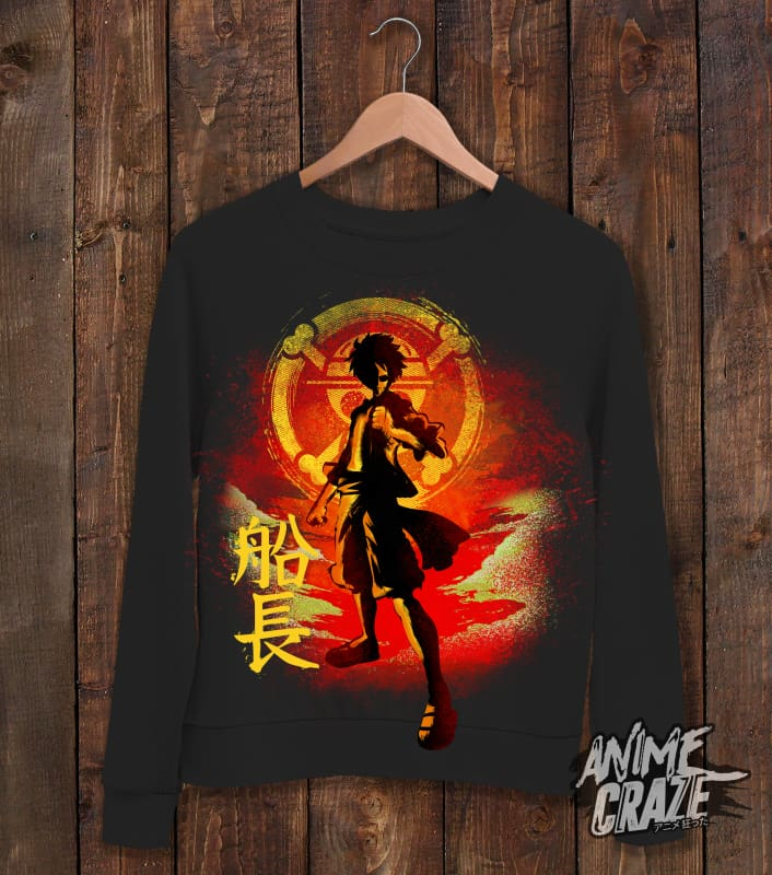 Luffy Sweat Shirt(Exclusive) - Anime Craze