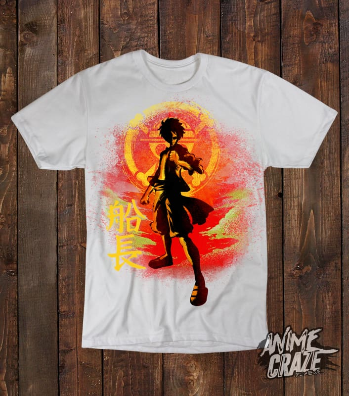 Luffy T-shirt(Exclusive) - Anime Craze