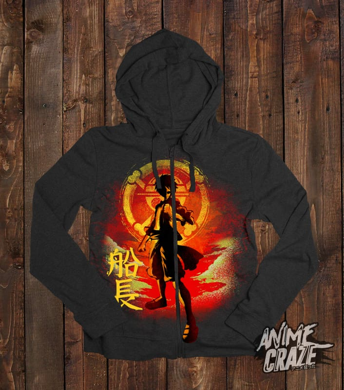 Luffy Zip-Up Hoodie(Exclusive) - Anime Craze