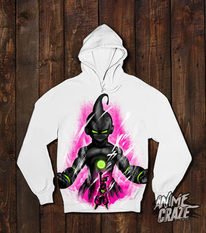 Majin Buu Pullover Hoodie(Exclusive) Dragon Ball