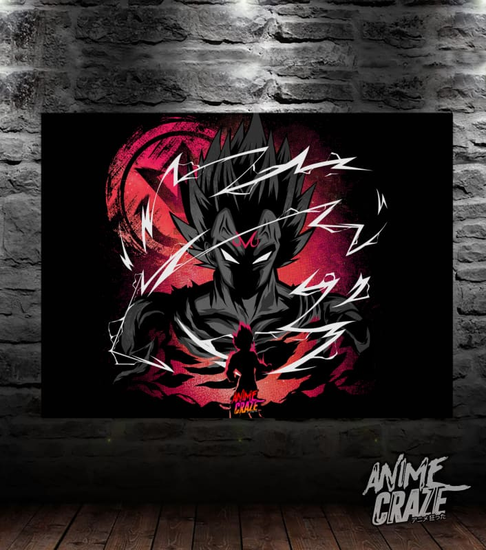 Majin Saiyan Canvas(Exclusive) - Anime Craze