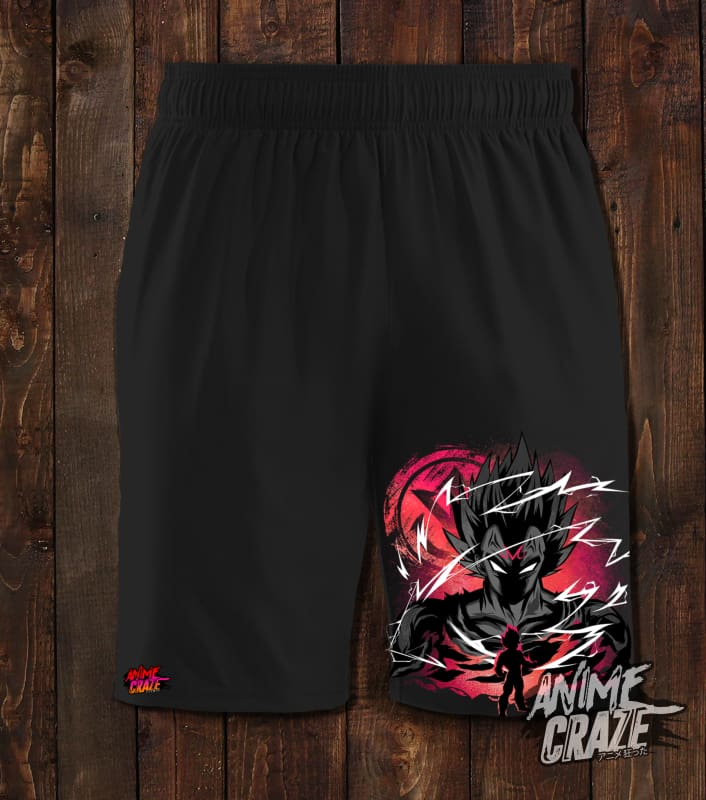 Majin Saiyan Swimming Shorts(Exclusive) - Anime Craze
