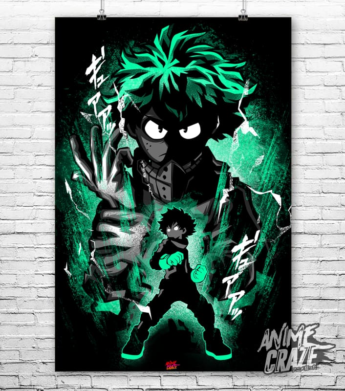 Midoriya Poster(Exclusive) - Anime Craze