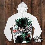 Midoriya Pullover Hoodie(Exclusive) - Anime Craze