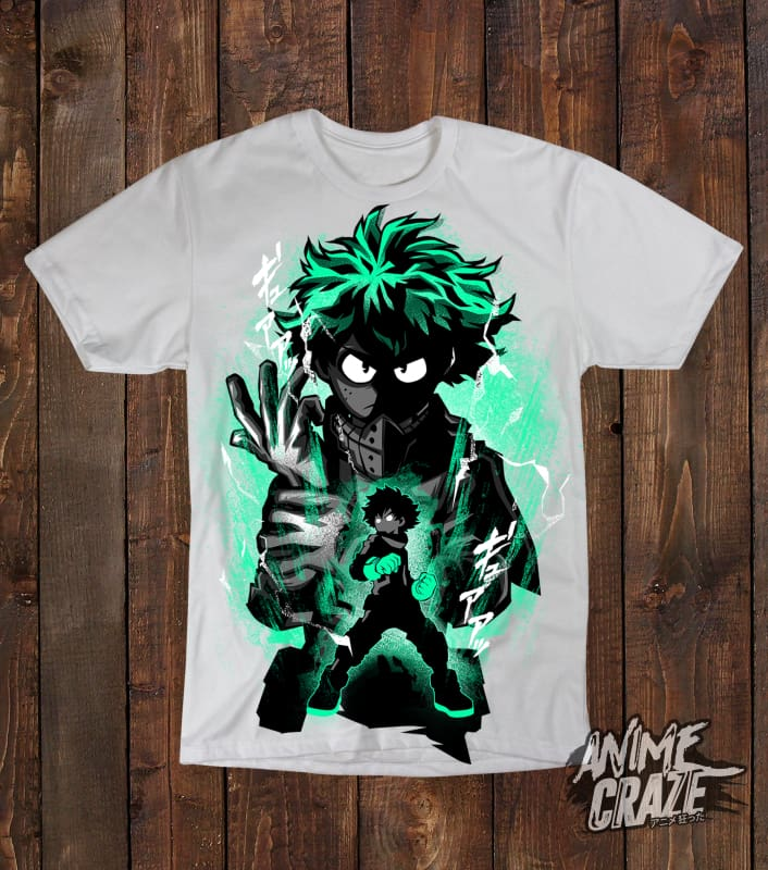 Midoriya T-shirt(Exclusive) - Anime Craze