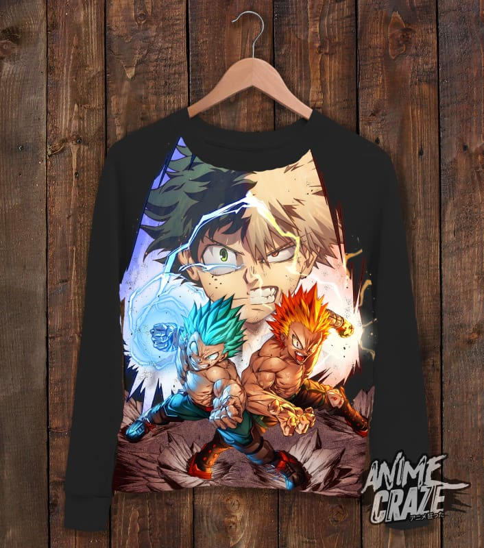One For All 100% Sweat Shirt(Exclusive) - Anime Craze