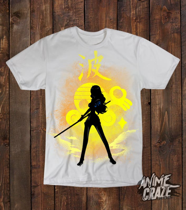 Nami T-shirt(Exclusive) - Anime Craze