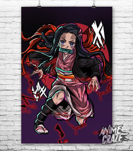 Nezuko Poster(Exclusive) - Anime Craze
