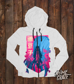 Nezuko Zip-Up Hoodie(Exclusive) Demon Slayer