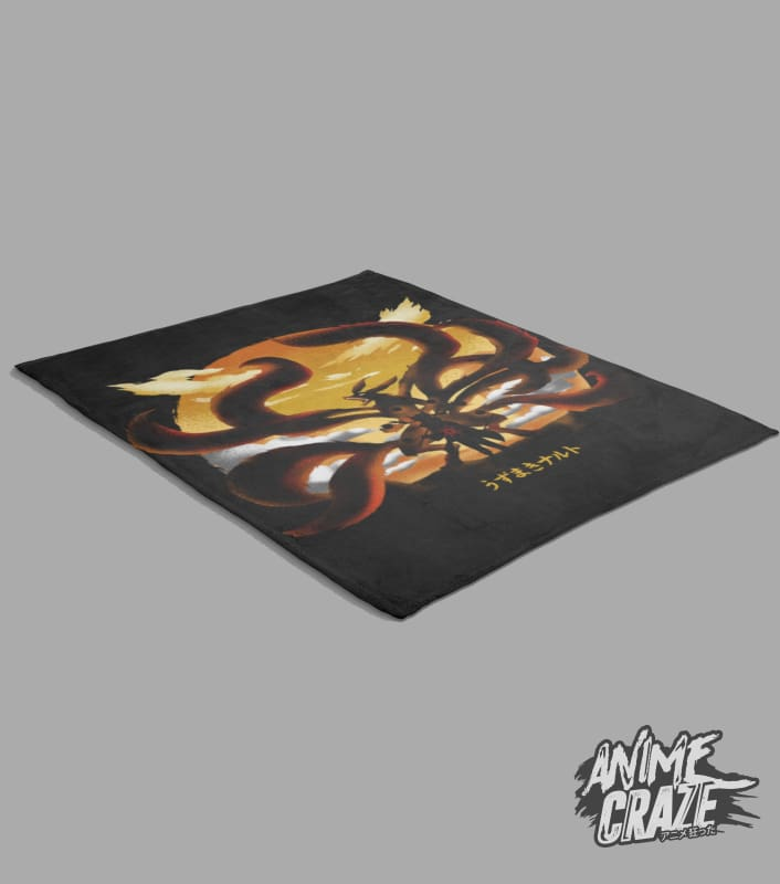Nine Tails Fleece Blanket(Exclusive) - Anime Craze