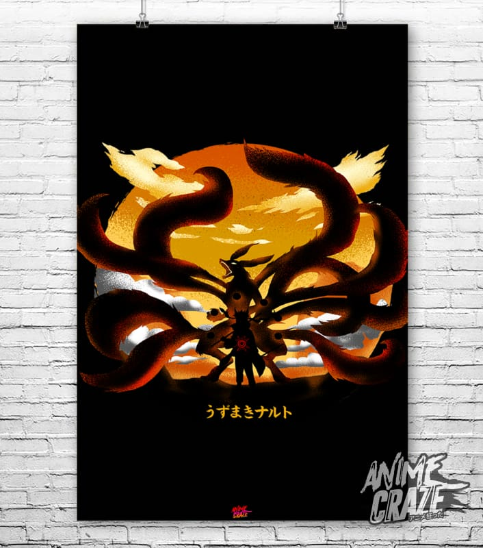 Nine Tails Poster(Exclusive) - Anime Craze