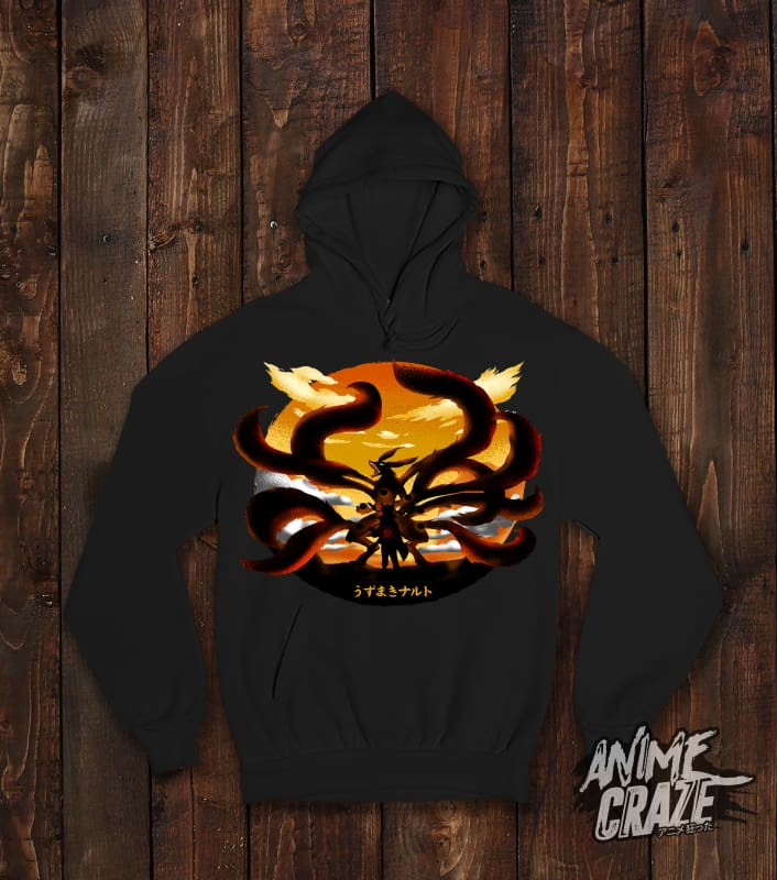 Nine Tails Pullover Hoodie(Exclusive) - Anime Craze
