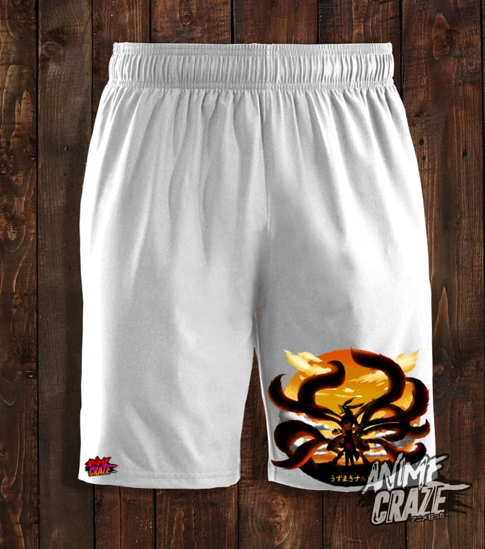 Nine Tails Swimming Shorts(Exclusive) - Anime Craze