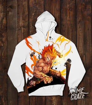 One For All Bakugo Pullover Hoodie(Exclusive) - Anime Craze