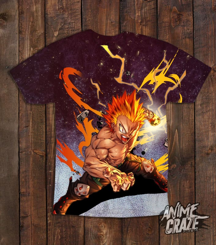 One For All Bakugo T-shirt(Exclusive) - Anime Craze
