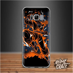 Orange Splash Case Dragon Ball