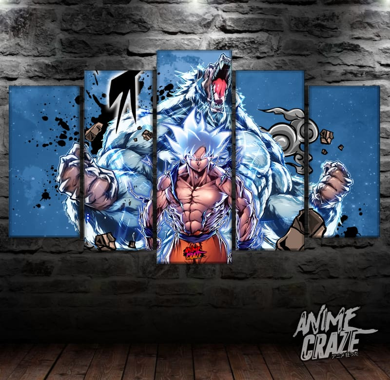 Ozaru & Goku Canvas (Exclusive) - Anime Craze