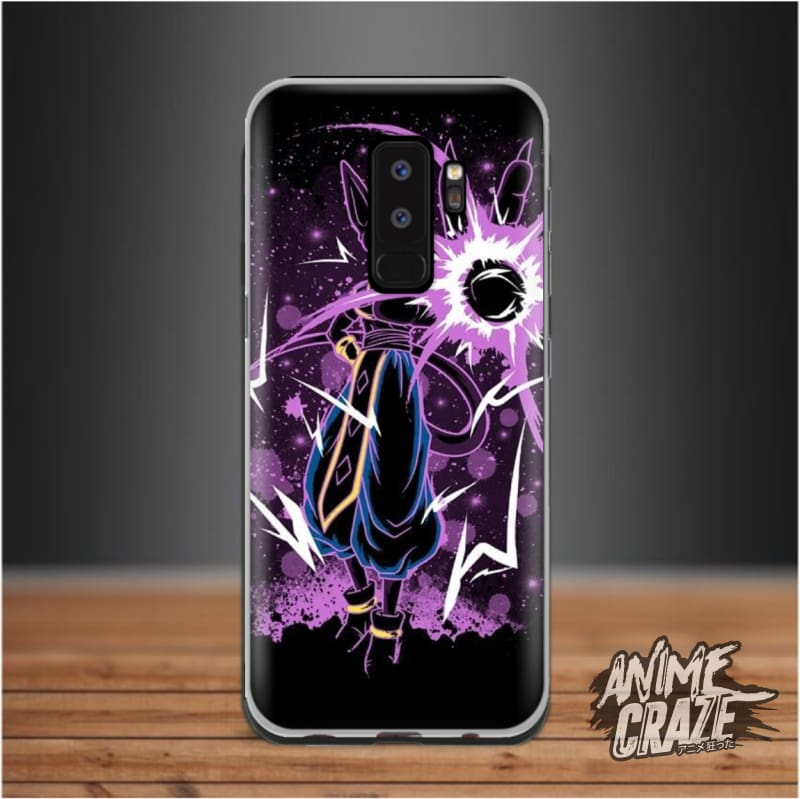 Purple Splash Case For Samsung S9 Plus Dragon Ball