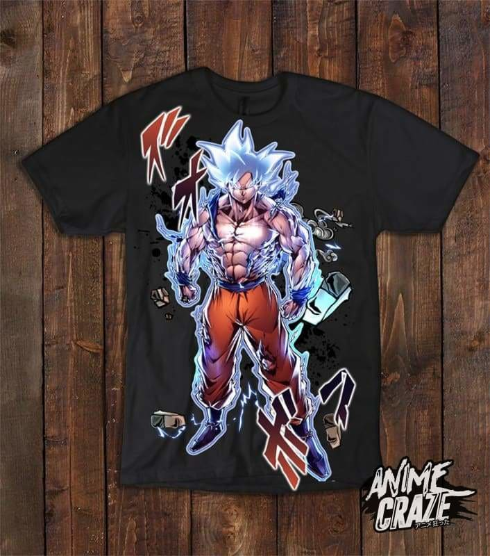 Raging Goku T shirt(Exclusive) - Anime Craze