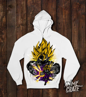 Saiyan Gohan & Goku Pullover Hoodie(Exclusive) Dragon Ball
