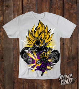 Saiyan Gohan & Goku T-Shirt(Exclusive) Dragon Ball