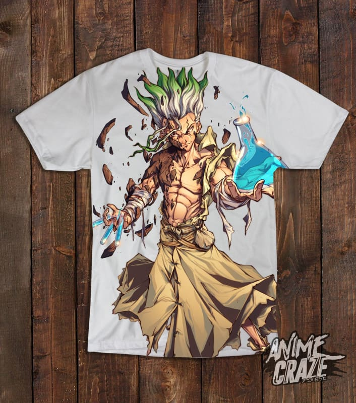 Senku Ishigami T-shirt(Exclusive) - Anime Craze