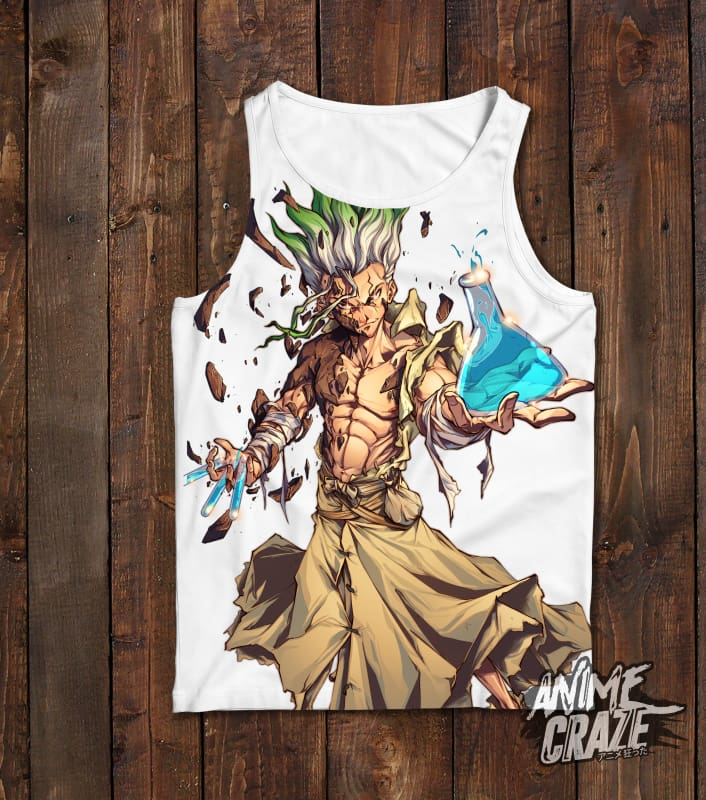 Senku Ishigami Tank Top(Exclusive) - Anime Craze