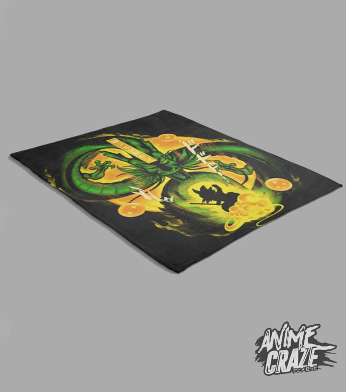 Shenron Fleece Blanket(Exclusive) Dragon Ball