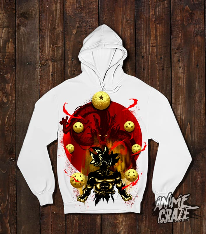 Shenron Pullover Hoodie(Exclusive) - Anime Craze