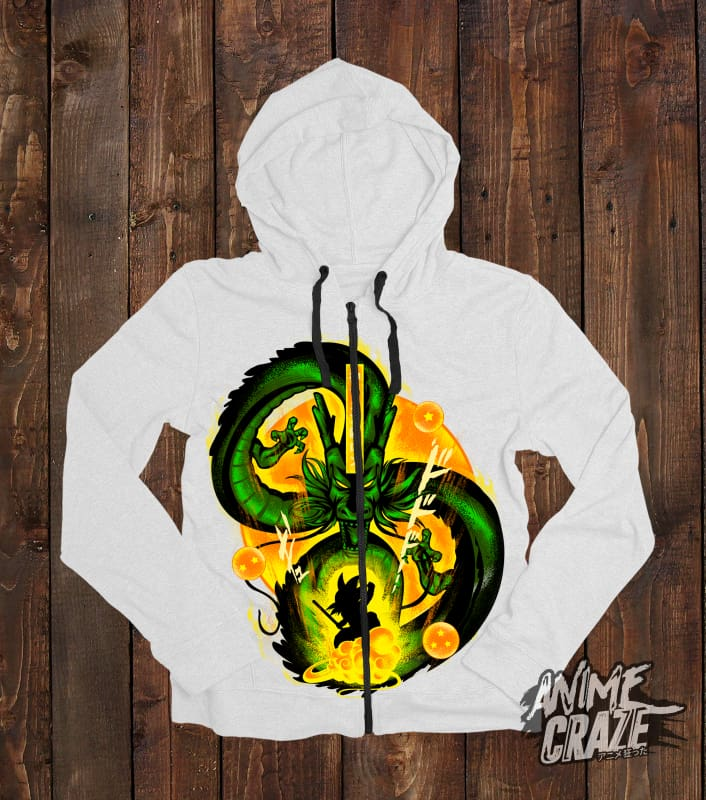 Shenron Zip-Up Hoodie(Exclusive) Dragon Ball