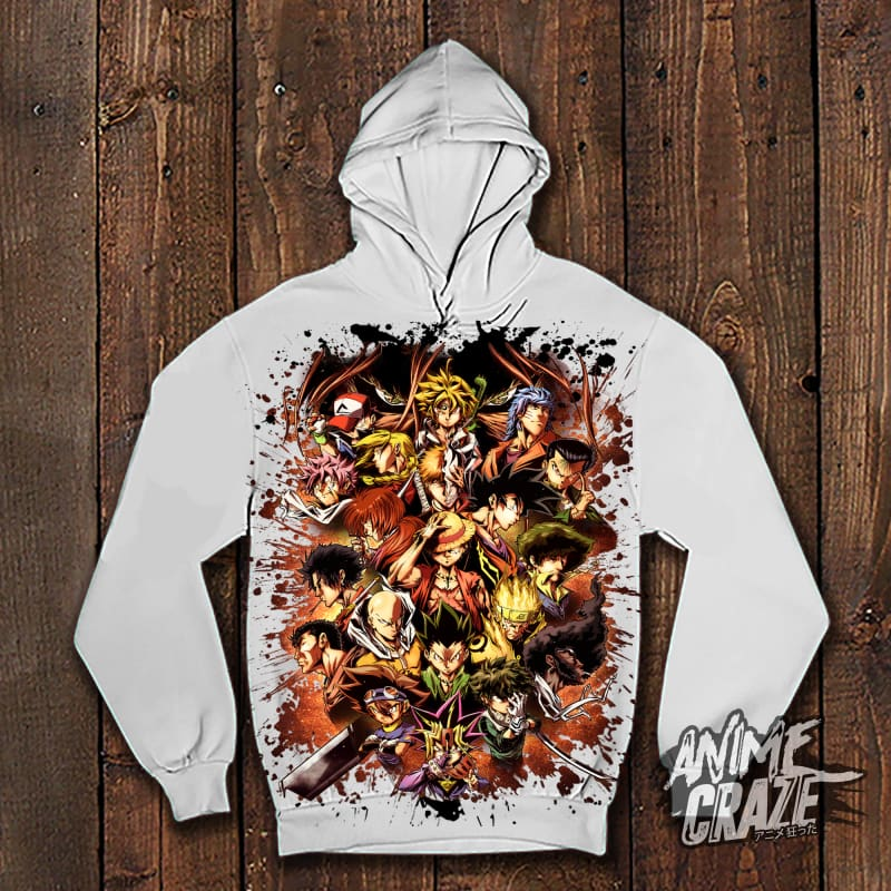 Shōnen MC's Pullover Hoodie(Exclusive) - Anime Craze