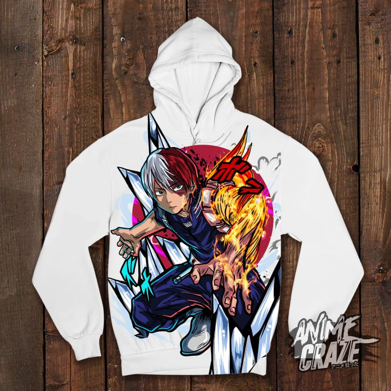 Shoto Pullover Hoodie(Exclusive) - Anime Craze