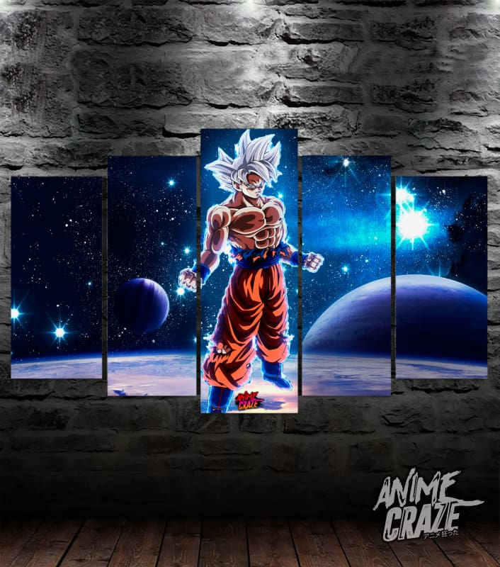 Space Goku Canvas(Limited Time) - Anime Craze