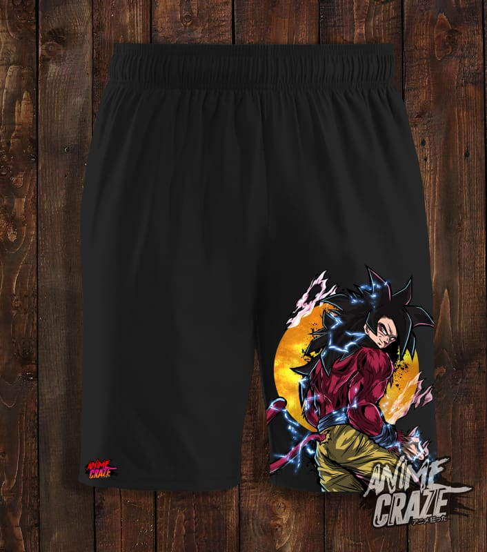 SS4 Goku Swimming Shorts(Exclusive) - Anime Craze