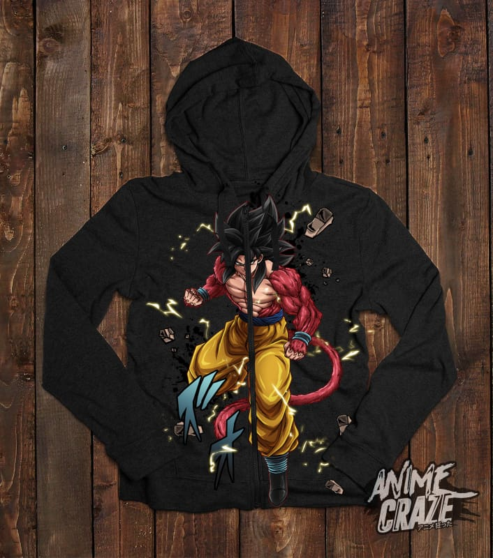 SS4 Zip-Up Hoodie(Exclusive) - Anime Craze