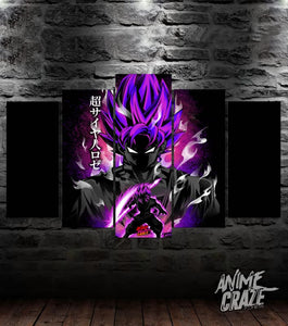 Super Saiyan Rose Canvas(Exclusive) - Anime Craze