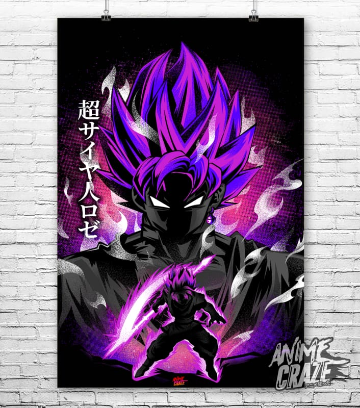 Super Saiyan Rose Poster(Exclusive) - Anime Craze