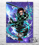 Tanjiro Kamado Poster(Exclusive) - Anime Craze