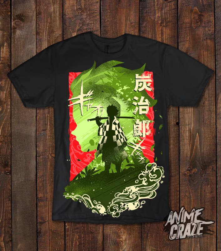 Tanjiro Kamado T-Shirt(Exclusive) Demon Slayer