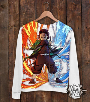 Tanjiro Sweater Shirt(Exclusive) - Anime Craze