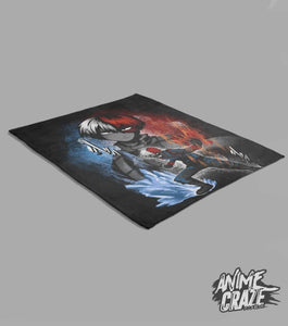 Todoroki Fleece Blanket(Exclusive) - Anime Craze