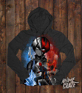 Todoroki Zip-Up Hoodie(Exclusive) - Anime Craze