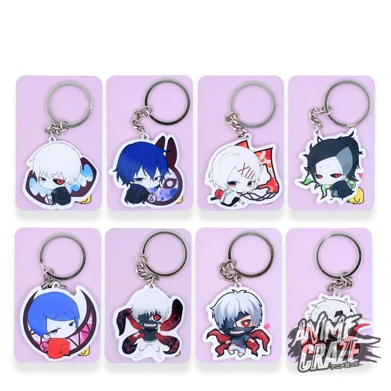 Touka Key-Chains Tokyo Ghoul