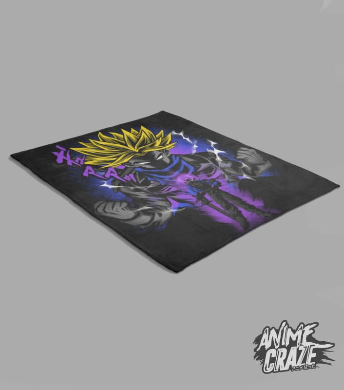 Trunks Fleece Blanket(Exclusive) - Anime Craze