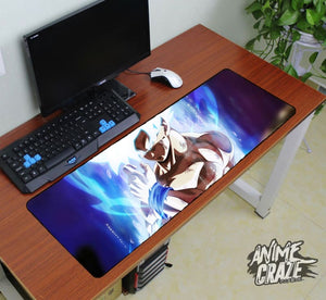 Ultra Instinct Goku Mouse Pad(Limited Time) - Anime Craze