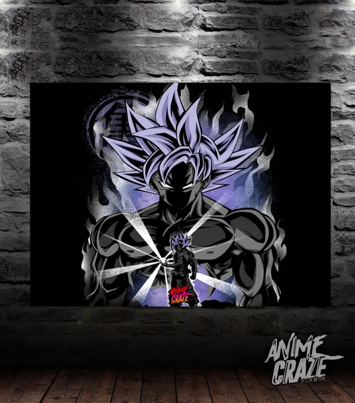 Ultra Instinct Saiyan Canvas(Exclusive) - Anime Craze
